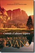 Evans, Nicholas - Cuando el abismo separa-portada