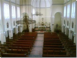 Inside Cor Jesu Chapel 2