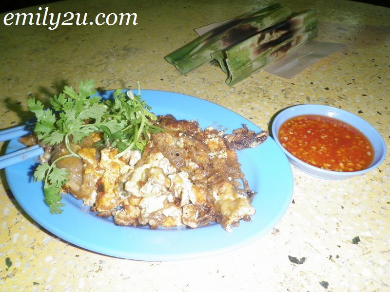 Melaka fried oyster