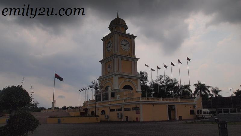 clock tower in Johor