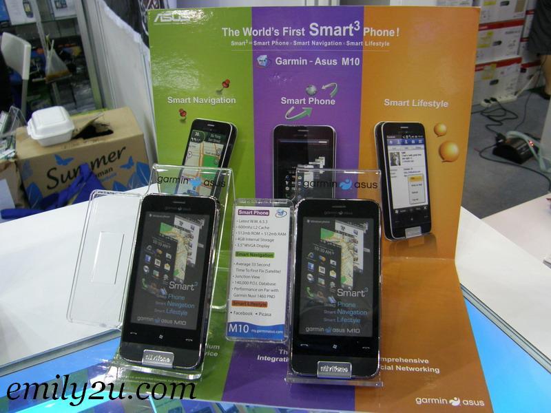 Garmin Asus M10 Smart3 phones