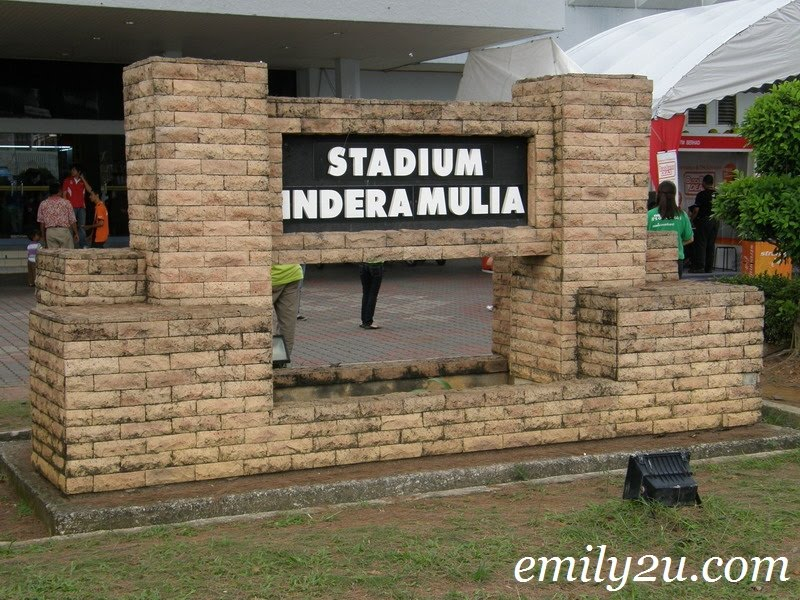 Stadium Indera Mulia indoor stadium
