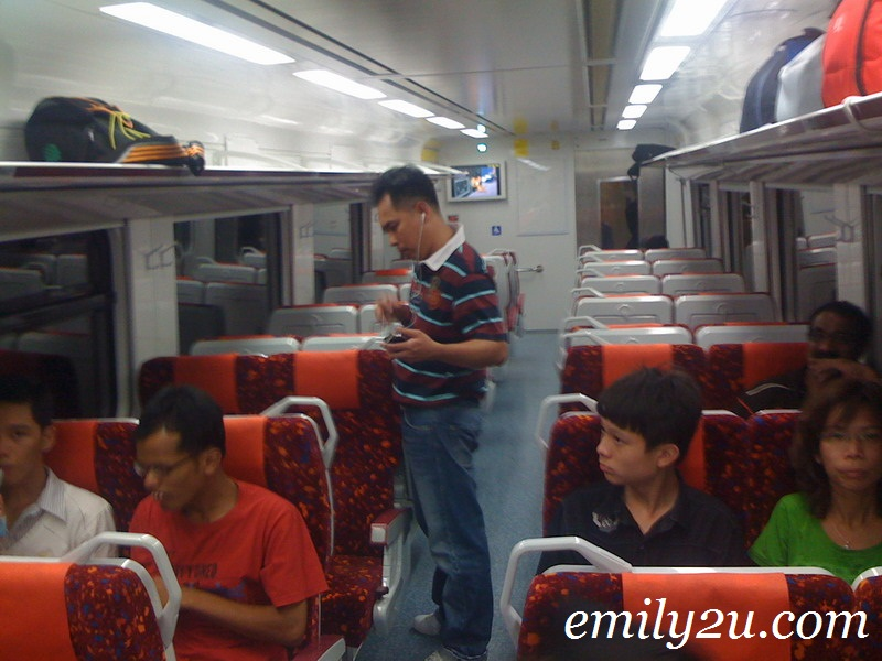 empty coach