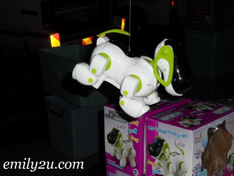 Lele the robot dog