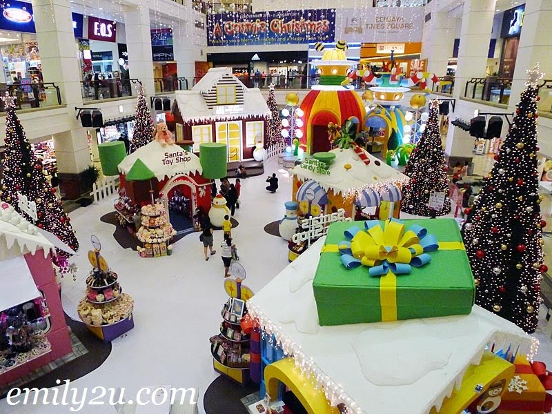 Merry Christmas in Berjaya Times Square