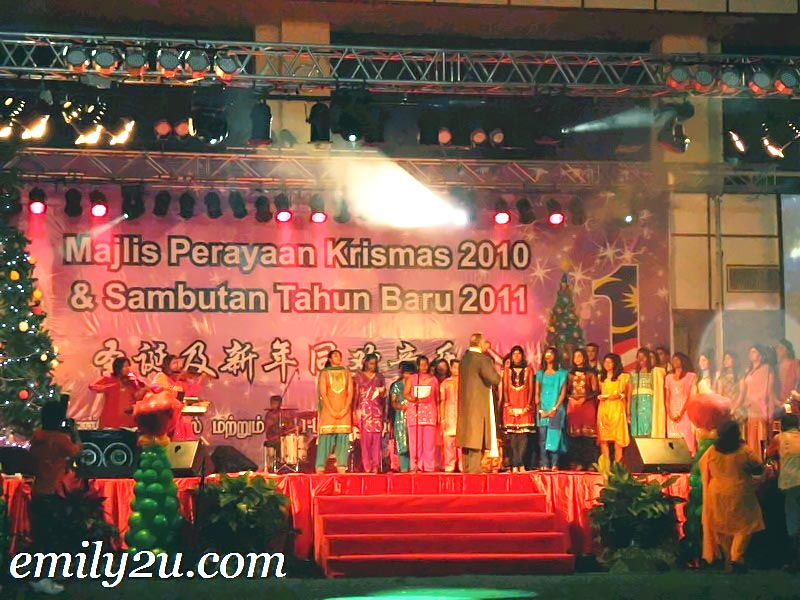 choir from Tamil churches in Ipoh