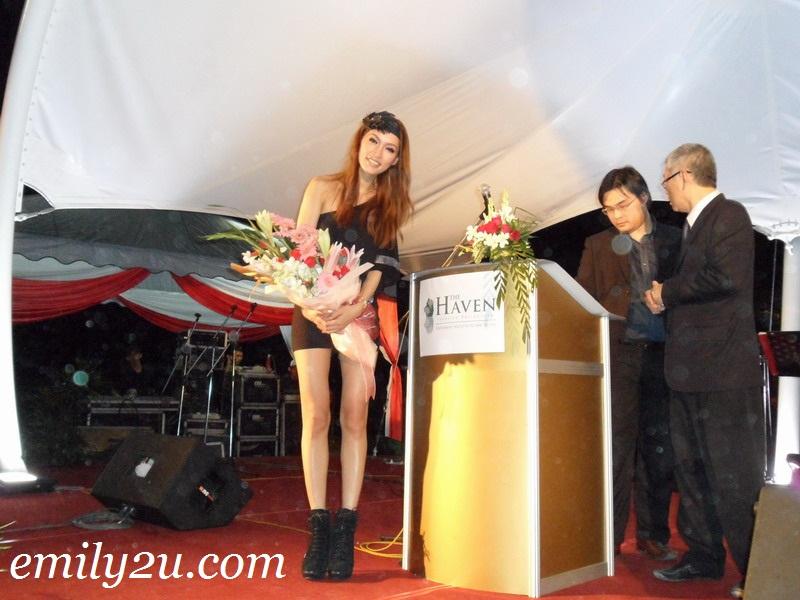 supermodel Amber Chia from Malaysia