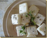 Khatta Dhokla upload