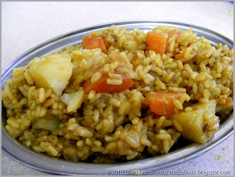 BrownRiceKhichadi