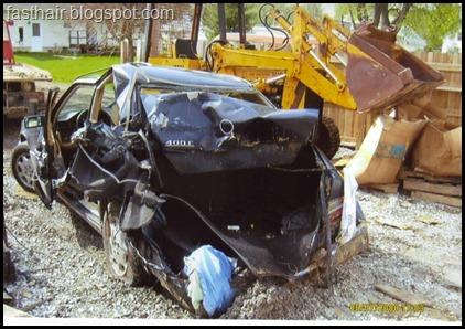400E Crashed