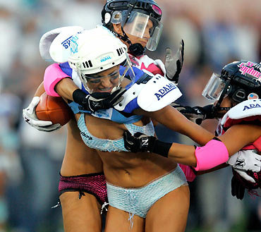 Lingerie Football Uniform