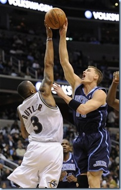 Nov 12 2008 [Nick Wass AP Photo] Matt getting blocked