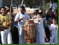 Capoeira bongô