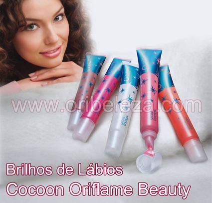 Brilhos de Lábios Cocoon Oriflame Beauty