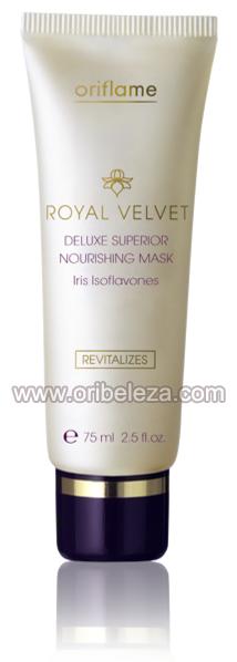 Máscara Facial Nutritiva Deluxe Superior Royal Velvet da Oriflame