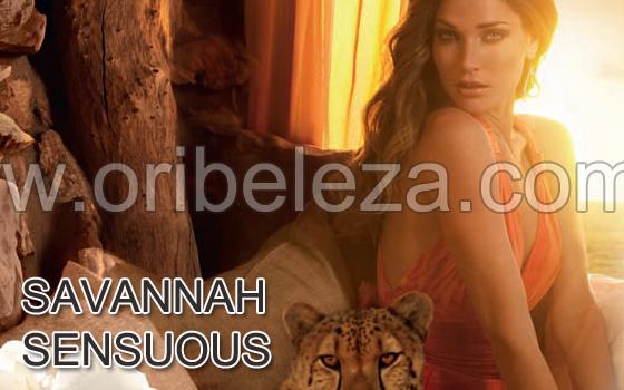 Colecção Savannah Sensuous da Oriflame