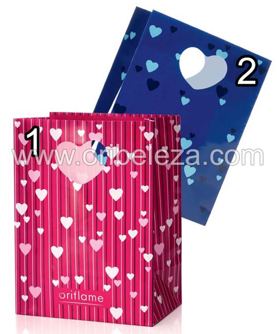 Saco para Presentes para o Dia de São Valentim da Oriflame