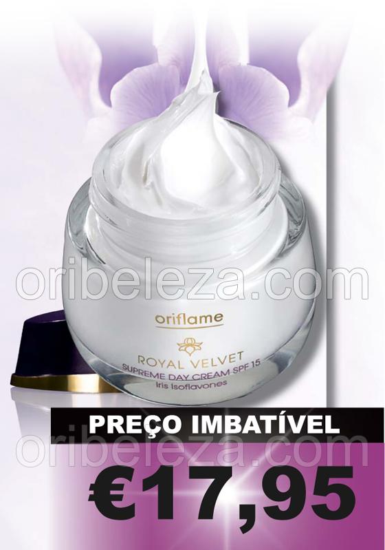 Creme de Dia Royal Velvet Oriflame - Catálogo 05/2011
