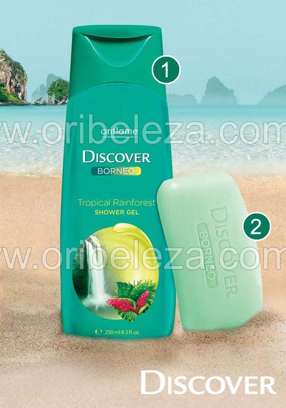 Produto Discover para o Banho – Catálogo 05/2011 da Oriflame