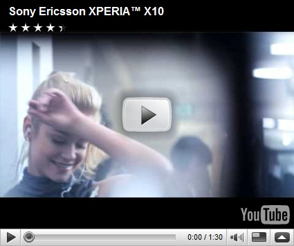 sony ericsson xperia video