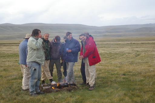 Fin d'après-midi près de Kara Say (altitude : 3400 m), 12 juillet 2006.
