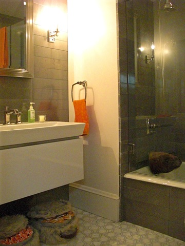 Erin Martin Bathroom for Matropolitan Home Modern by Design Showhouse 2009
