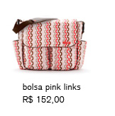 bolsa pink links | R$ 152,00