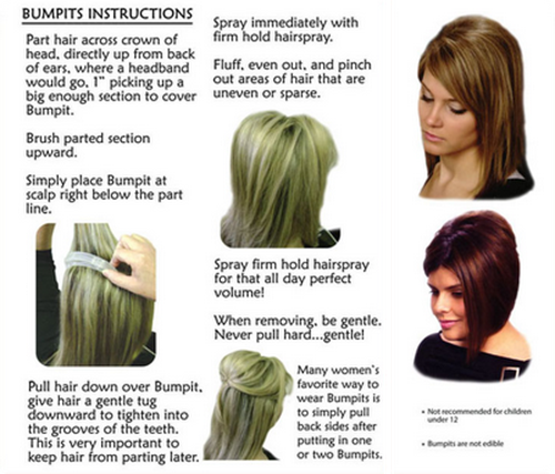 Bumpit instructions