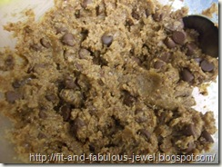 flax cookie dough