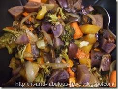 balsamic cooked veggies