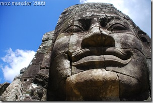Smile ! Big Brother (King Jayavarman VII) is looking at YOU !