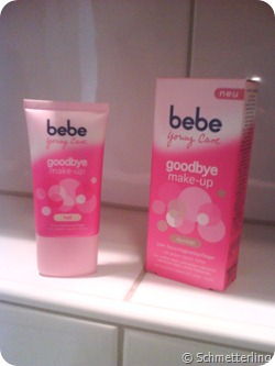 bebe goodbye makeup