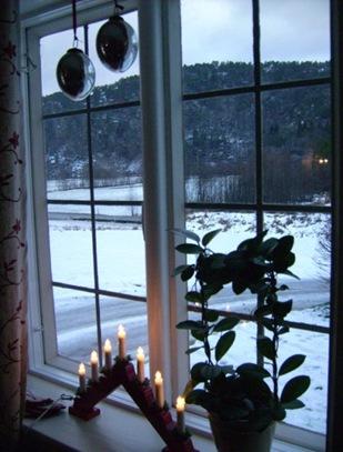 jul i vinduet