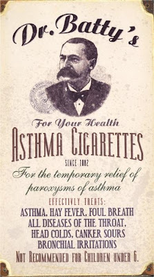 Dr. Batty's Asthma Cigarettes