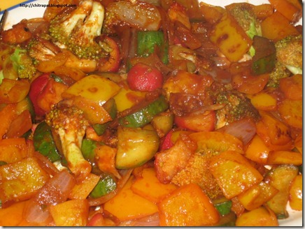 Chitra Pal Sweet and Saucy Stir Fry