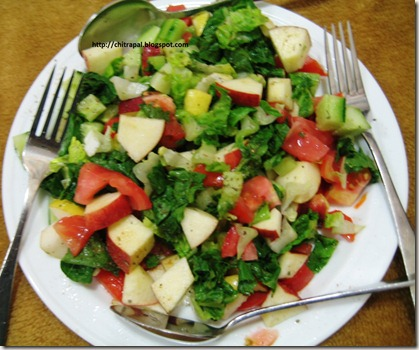 Chitra Pal Apple Salad