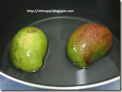 Chitra Pal Raw Mango in Water