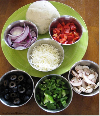 Chitra Pal Pizza Ingredients
