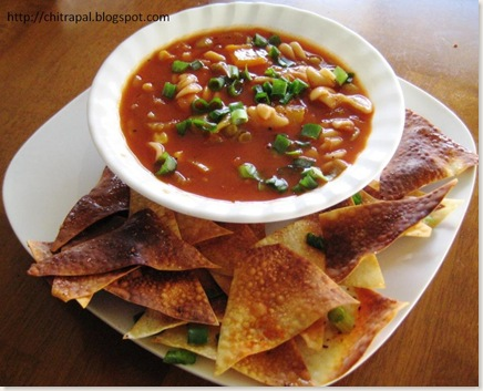 Chitra Pal Soup and Chips