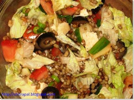 Chitra Pal Sprouts Salad