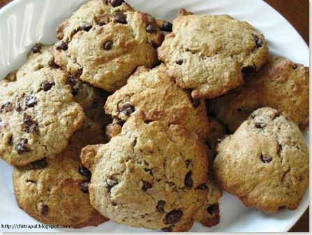 Chitra Pal WholeWheat Choclate Chip Cookies
