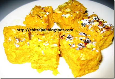 Chitra Pal Mango Kalakand