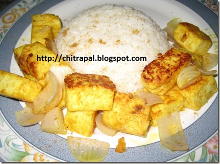 Chitra Pal Curd Paneer with Butter Rice