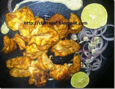 Chitra Pal Tandoori Chicken Kebab
