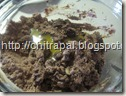 Chitra Pal make the brownie dough by mixing all ingredients