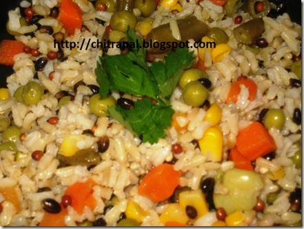 Chitra Pal Warm Medley Rice Salad