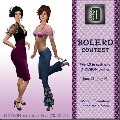 D-DESIGN AD Bolero Contestpng