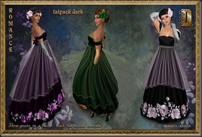 D-DESIGN Romance fatpack dark'