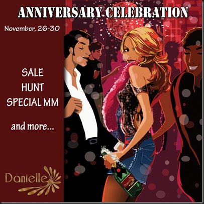DANIELLE Anniversary banner'