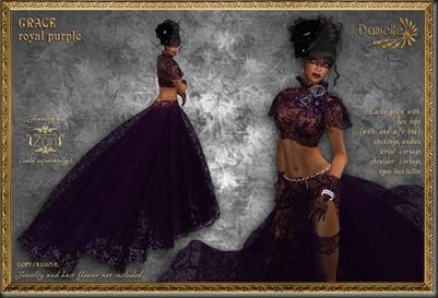 DANIELLE Grace Royal Purple'